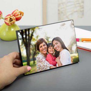 Wooden Table-Top Photo Panels